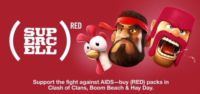 Supercell i Apple w kampanii RED z okazji Światowego Dnia AIDS 2015