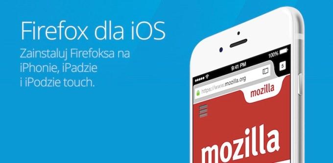 Firefox na iOS-a