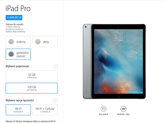 iPad Pro - ceny w Polsce