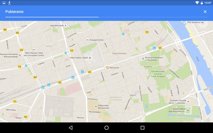 Mapy Google w trybie offline na urządzeniach z Androidem i iOS-em