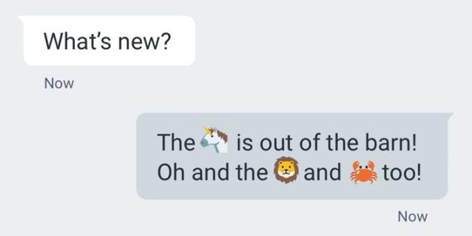 Android 6.0.1 z nowymi Emoji