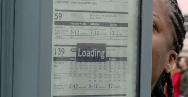E-papierowe rozkłady jazdy w Londynie