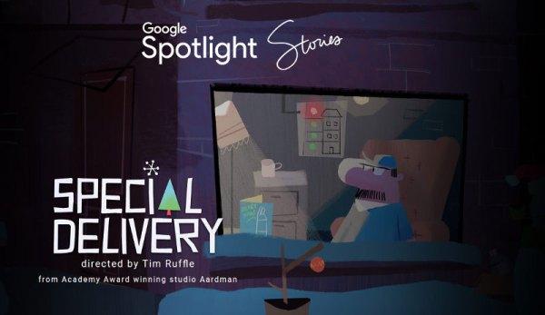 """Świąteczna zabawa w interaktywnym filmie """"Spotlight Stories"""""""
