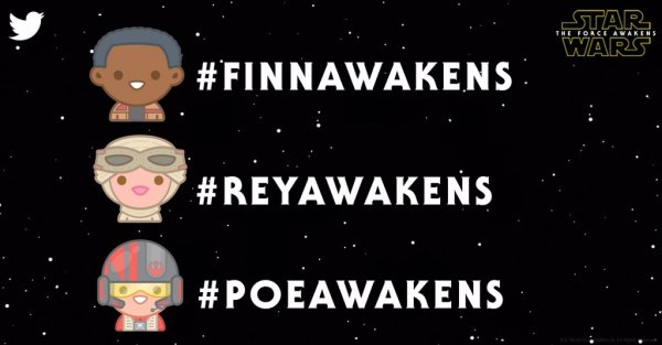 Nowe emoji Star Wars na Twitterze