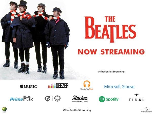 The Beatles w serwisach streamingowych