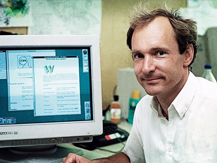 Tim Berners-Lee - twórca pierwszej strony internetowej