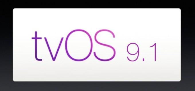 Uaktualnienie tvOS 9.1 dla nowego Apple TV 4. generacji.