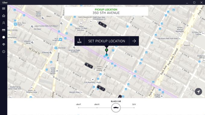 Uber na urządzenia z systemem Windows 10
