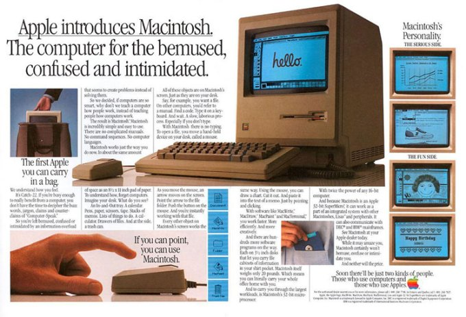Macintosh Apple'a z 1984 r.