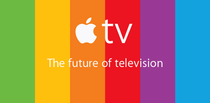 Reklama Apple TV - the future of television