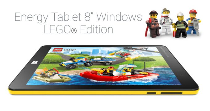 "Energy Tablet 8"" Windows 10 LEGO Edition"