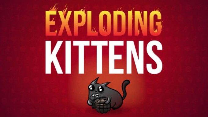 Mobilna gra karciana Exploding Kittens na iOS-a