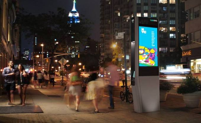 LinkNYC - hotspoty Wi-Fi w Nowym Jorku