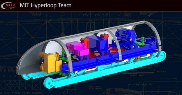 MIT Hyperloop wygrał konkurs na projekt kapsuły