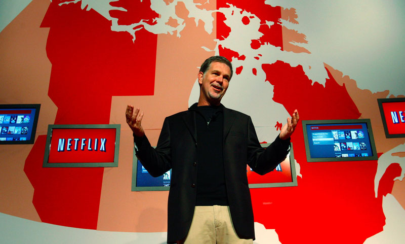 Netflix w Polsce (Reed Hastings CES 2016)
