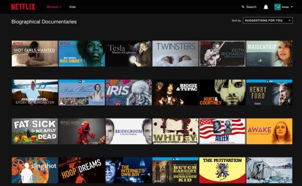 Jak wyświetlić ukryte kategorie w serwisie Netflix?