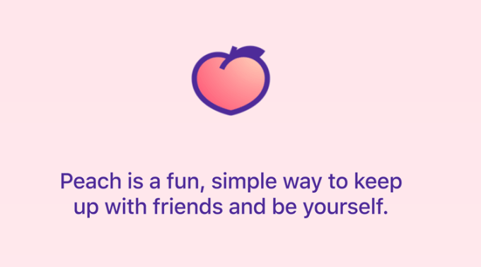 Peach - social media