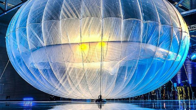 Project Loon - internet z balonów od Google'a
