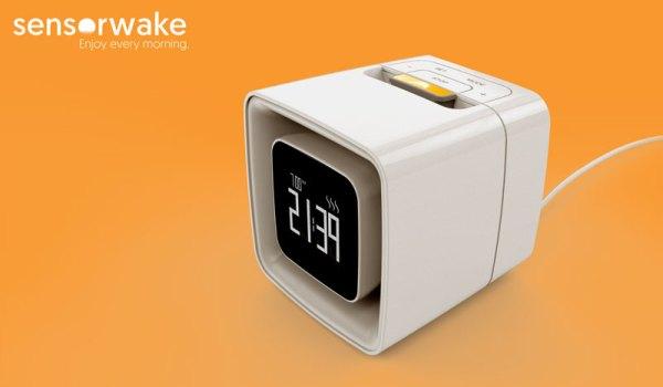 Budzik Sensorwake obudzi Cię przyjemnym zapachem