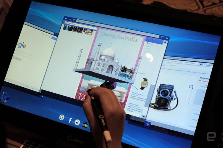 Przeglądarka internetowa VR od zSpace