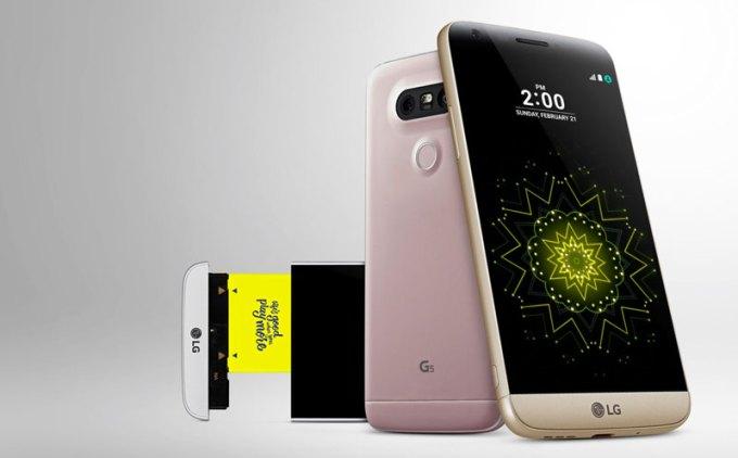 LG G5 (różowy)