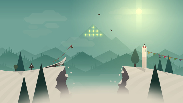 Screen z gry Alto's Adventure