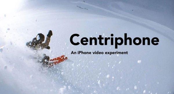 Hipnotyzujące wideo nagrane iPhone'em podczas jazdy na nartach