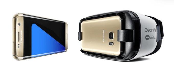Galaxy S7 i okulary Gear VR do wirtualnej rzeczywistości w prezencie (w przedsprzedaży)