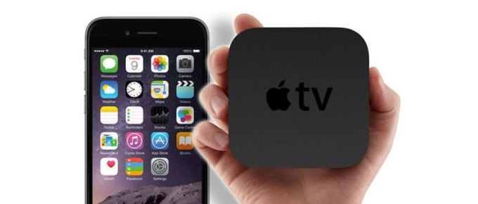 iPhone pilotem do Apple TV 4. generacji