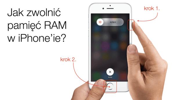 Szybki sposób na zwolnienie pamięci RAM w iPhone'ie
