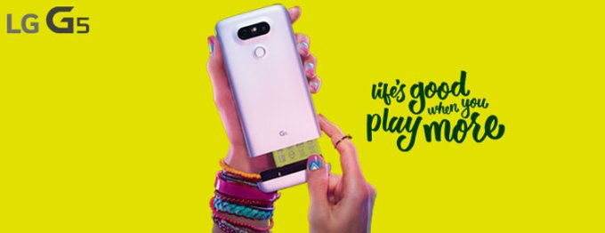 LG G5 - Life's good when you play more