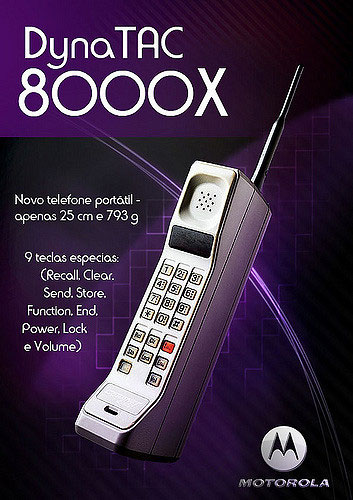 Motorola Dyna TAC 8000X