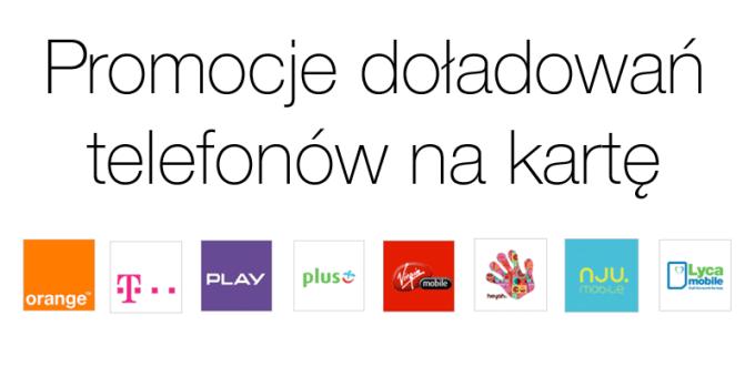 autentyczna jakość popularna marka najlepszy Promocje doładowań telefonów na kartę - mobiRANK.pl
