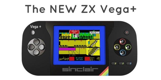 Konsola przenośna Sinclair ZX Spectrum Vega+
