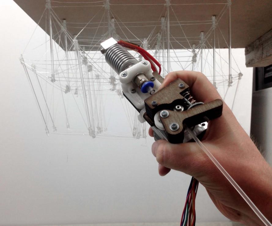 Drukowanie 3D w powietrzu