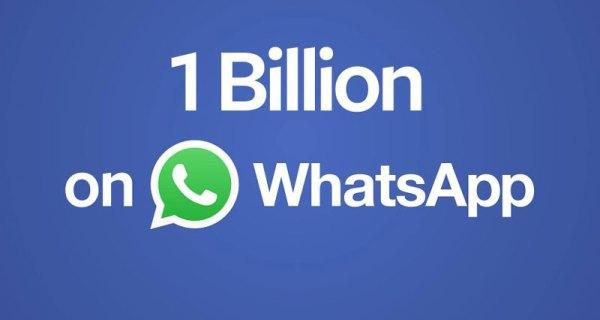 1 na 7 osób na świecie używa WhatsApp