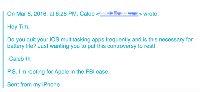 E-maila Apple w sprawie żywotności baterii iPhone'a cz. 1