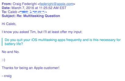 E-maila Apple w sprawie żywotności baterii iPhone'a cz. 2