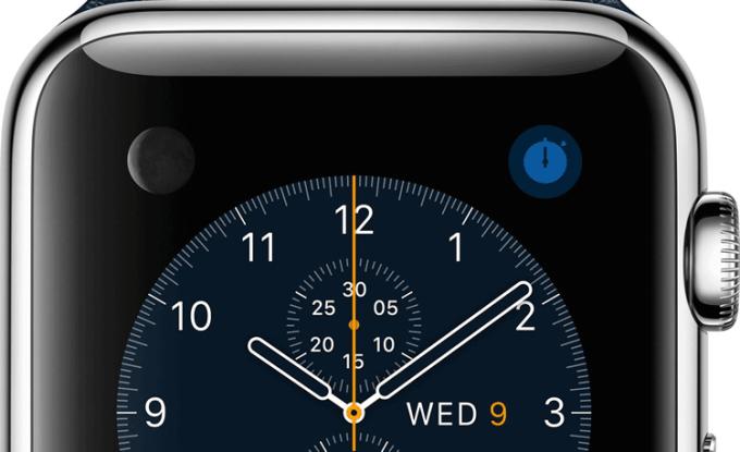 Apple Watch godz. 10:09