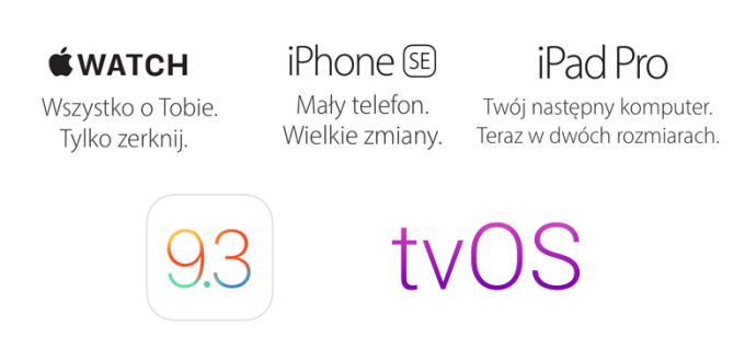 Co Apple pokazało podczas konferencji 21 marca 2016 r.?