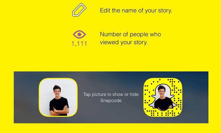 Snapcode i zdjęcie profilowe