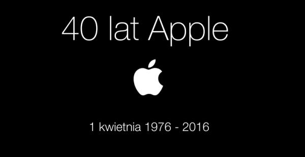 40 lat Apple w pigułce