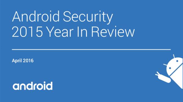 Raport: Bezpieczeństwo Androida 2015