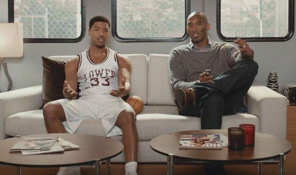 Reklama Apple TV z koszykarzem Lakersów
