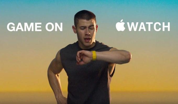 Reklama zegarka Apple Watch (Nick Jonas)