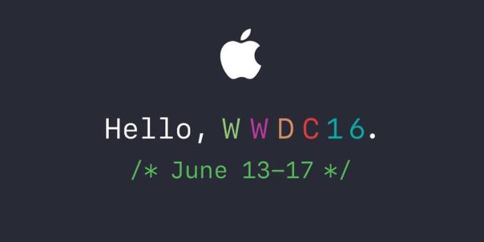 WWDC16 logo