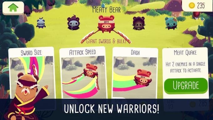 Screen z gry Bushido Bear
