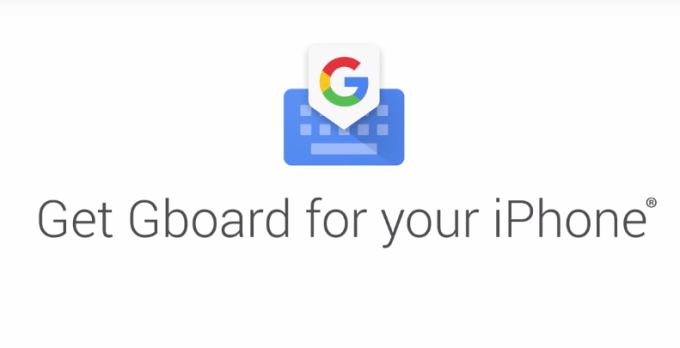 Gboard - klawiatura Google na iPhone'a