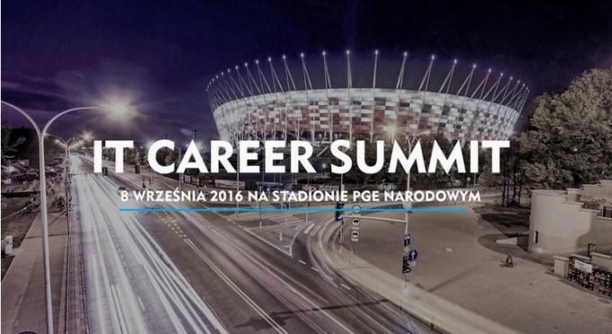 IT Career Summit Warszawa 2016 - stadion PGE