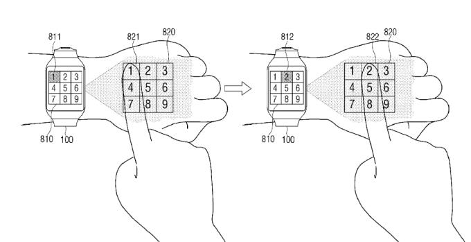 Klawiatura na nadgarstku (smartwatch)